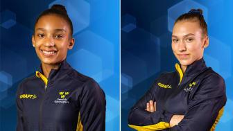Jennifer Williams femma och Alva Eriksson sexa i World Challenge Cup i gymnastik