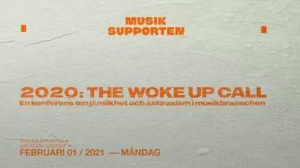THE WOKE UP CALL - En konferens om jämlikhet och antirasism i musikbranschen