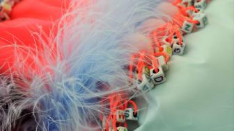 Steph Starkey's Alzheimer's inspired garment for Graduate Fashion Week