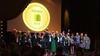 Vinnarna i Sweden Green Building Awards 2019
