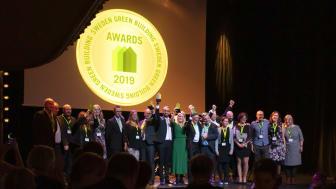 Här är vinnarna i Sweden Green Building Awards 2019