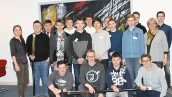 Aus dem gesamten Netzgebiet von Westfalen Weser Energie nahmen Schülerinnen und Schüler von Gymnasien und Gesamtschulen am Energy Camp teil.