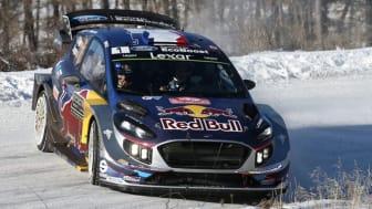 Fords rallybil – nya Fiesta WRC.