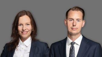 Annika Edström, Head of What's Next/Research och Anders Elvinsson, Head of Valuation & Strategic Advisory