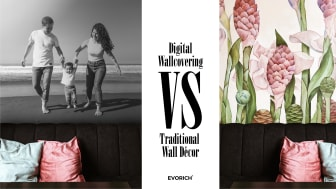 How Digital Wallcovering Has Better Advantages Over Traditional Wall Décor