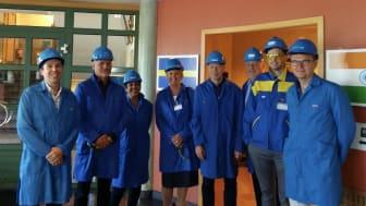 P Wooldridge (Bharat Forge), G Backlund (Saab), S Valizadeh (Atlas Copco), A Ragen (Örebro University), K Fagerström (ANSP), M Ingesson (Chairman of Advisory Board), E Resebo (ANSP), P Rigbäck (ANSP).