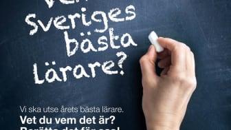Vem är Sveriges bästa lärare 2013?