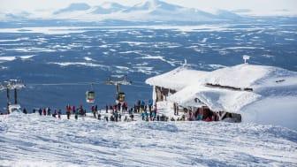 Populära Åreskutan - Popular Mount Åreskutan