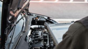 Notebooks und Tablets von Getac: Modernste Technologie für die Automobil-Industrie, ob in Produktion oder Werkstatt     Bild: Getac