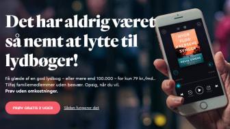 BookBeat lanserar i Danmark - målet är minst 100 000 användare