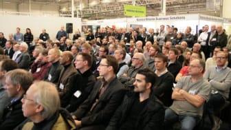Stort intresse kring säkerhetsfrågor och sociala medier på Nordens största IT-event i Stockholm