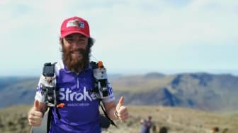 Liverpool's own Forrest Gump raises more than £10,000 for the Stroke Association with mammoth 185 mile challenge