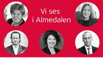 Marita Loft, Åsa Wallenberg, Jan Erik Saugestad, Filippa Bergin och Staffan Hansén