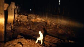 Tjernobyls reaktorhall efter explosionen