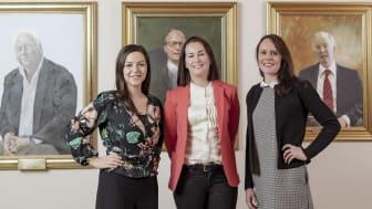 Fatime Nedzipovska, Anna Nauclér och Charlotta Fellman är alla med på Handelskammarens 100-lista.