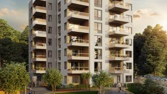 HSB säljstartar 56 lägenheter i Brf Odlaren 2