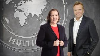 Grethe Bergly, CEO i Multiconsult og Arne Jorde, daglig leder i Erichsen & Horgen