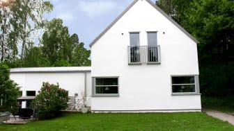Villa i Dalby, Skåne, putsad med Weber Serpovent G2