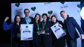 Aivoliitto ja Nightingale Health palkittiin Health Awards 2018 -kilpailussa