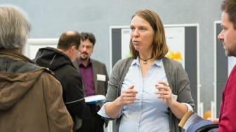 Bereits bei einer Info-Veranstaltung am 24. November zum Geothermie-Projekt in Poing war Prof. Inga Moeck vom Leibniz-Institut für Angewandte Geophysik in Hannover als Expertin vor Ort.