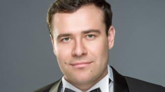 Mykhailo Malafii är 2018 års mottagare av Kungliga Operans Anders Wall-stipendium. Foto: Serhiy Berezjak