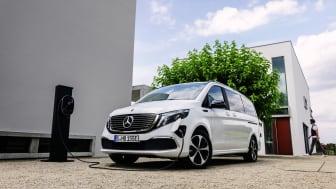Mercedes-Benz EQV – Världens första helt eldrivna MPV/minivan i premiumsegmentet