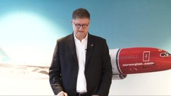 Presseorientering om Norwegians nye forretningsplan
