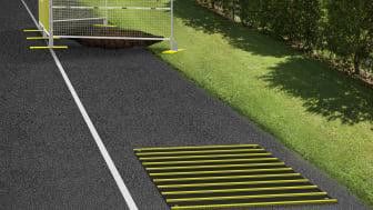 Ramirents avstägningsutrustning ökar säkerheten för alla vid vägarbeten.