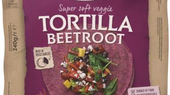 Soft Tortilla Beetroot
