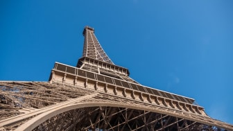 The Eiffel Tower, from the official Eiffel Tower website ...photographed during the day.