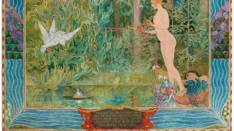 Venus och tummelisa, Carl Larsson