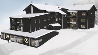 SkiStar Vacation Clubs nya boende: Åre Village Foto: SkiStar