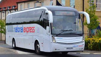 Go North East operates 30 coaches for National Express