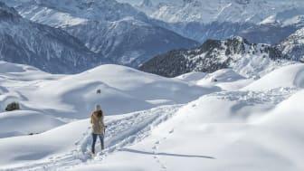 Höhenwanderweg von der Moosfluh zur Riederfurka © Aletscharena.ch / Sylvia Michel
