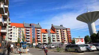 Mejeritorget i Örebro.