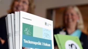 Välkommen till Teckenspråk i fokus den 11 maj!