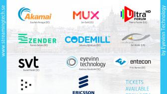 Årets upplaga av Streaming Tech Sweden går av stapeln på onsdag