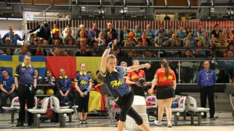 På bilden: Hanna Engberg. Källa: Svenska Bowlingförbundet