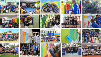AkzoNobel and SOS Children's Villages Projects from around the world