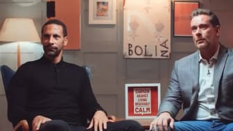 Rio Ferdinand is the latest star to feature in CALM'S #BestManProject