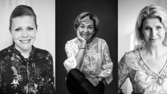 Linn Ljungkvist, Ann Burgaz och  Lotta Lidén driver tillsammans Vingruppen.