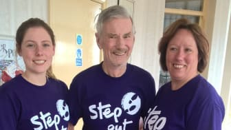 Survivors take a Step Out for Stroke in Blackpool