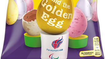 Cadbury goes for gold with Wini Eggs and ParalympicsGB Partnership