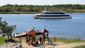 Bei Familien sehr beliebt: Markkleeberger See - Foto: Andreas Schmidt