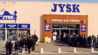 20 lat temu JYSK otworzył pierwszy sklep w Polsce- zdradzamy kulisy