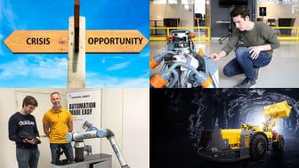 Kompetensutveckling, hållbar gruvdrift och chans för företag att prova robotar