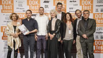 Verleihung des SOS-Dokumentarfilmpreises beim DOK.fest München.