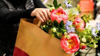 foodora siktar på att bli Sveriges populäraste q-handelsplats för blommor