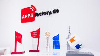Internetagentur-Ranking 2017: APPSfactory auf Platz 51 der größten Digitalagenturen Deutschlands