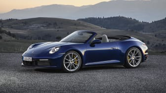 Den nye Porsche 911 cabriolet